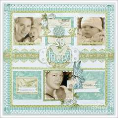 ~So Loved~ March Scrap That! Kit