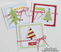 *NEW* Nikki Sivils 'Christmas Card Trio'