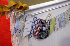 On Holiday Banner by Margie Romney-Aslett