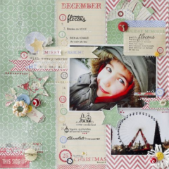 Christmas by Fabienne Pernot featuring Countdown to Christmas from Melissa Frances