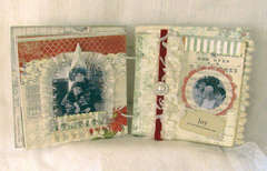 Melissa Frances Holiday Mini Album