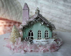 Miniature Melissa Frances Church Ornament