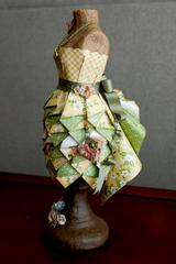 Altered dress form