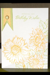 Sunflower Birthday Wishes