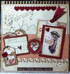 G45 February 2013 easel calendar