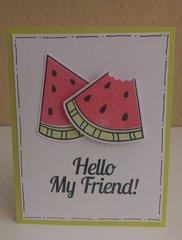 Watermelon Hello