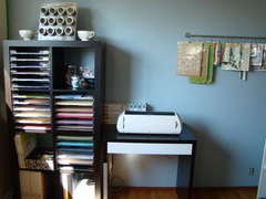 My new scrapbook room