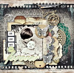 Kaisercraft Design Team 2014 Entry, Forever layout