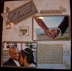 Cherish The Times We Share (Wedding Album)