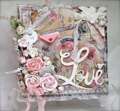 Shabby Chic Valentine's Card #4
