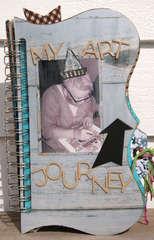 My Art Journey, Mix media album