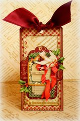 Happy Holidays *Graphic 45 & Handmade Holidays blog hop*