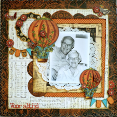 Voor Altijd/Forever *Graphic 45 and Cards & Scrap*