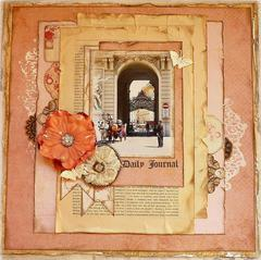 Daily Journal *Scraps of Elegance guest designer*