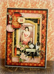 Birdsong card *Graphic 45*