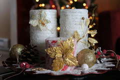 Christmas Centerpiece~~~Your Memories Here~~~
