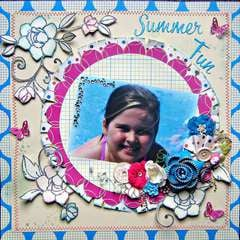 Summer Fun~~Paper Niche November Kit~~