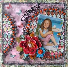 Claudine~~Paper Niche September Kit~~