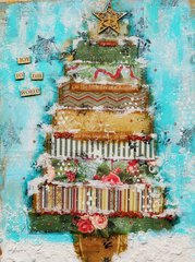 Christmas Canvas~~Scraps of Elegance~~