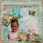 Little Princess~~ScrapThat! August Kit and FWAB~~