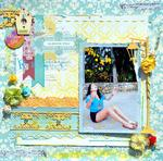 FLOWER GIRL from ***Scraps of Elegance***