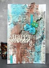 HAPPY ANNIVERSARY card by Agnieszka Bellaidea