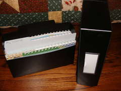 Storing Cricut Cartridges, Key Pads, and Manuals