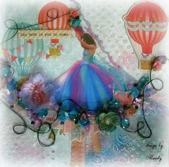 FLY ~Scraps of Elegance~ DT Project-June Kit-