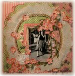 LOVELY LADY - ~Scraps of Elegance~ Floral Fantasy Kit - March