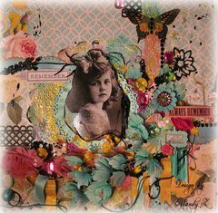 REMEMBER - ALWAYS REMEMBER ~Scraps of Elegance~ DT project -