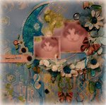 THOSE BABY BLUE EYES ~Scraps of Elegance~ July Kit -