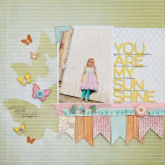 You are My Sunshine {Studio Calico}