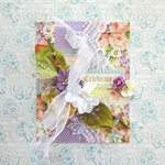 Celebrate Card *Scrapbook Adhesives by 3L DT*