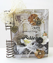 Believe Art Journal *Flying Unicorn CT*
