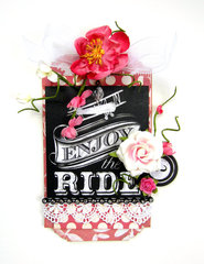 Enjoy the Ride Tag *Scrapbook Adhesives by 3L DT*