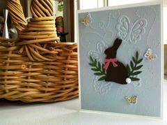 Easter Bunny & Butterflies