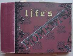 File Folder Mini Scrapbook Album