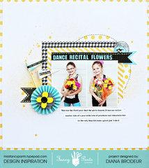 Dance Recital Flowers *Fancy Pants Designs*