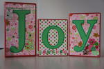 Joy Wood Blocks