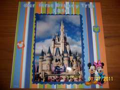 My First Mini Album- Extra Disney Pics