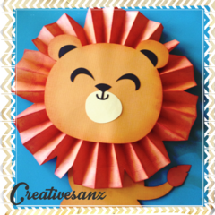 3d Lion decoration