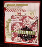 Teresa Collins Christmas Countdown Kit Document December Book