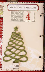Teresa Collins Christmas Countdown Book - page 4