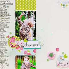 Follow your Dreams *Nov. Guest Designer for Pebbles*