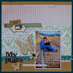 MY Place *June Scrapbooks Etc Issue*