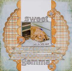 Sweet Gemma *Pink Paislee*