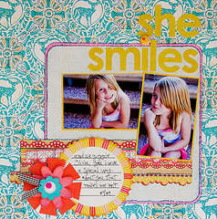 She Smiles *SketchBlog***Sassafras*