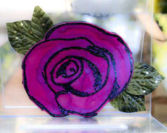 Rose Shaped Card with Tutorial