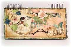 2012 calendar -cover - *Graphic 45*