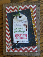 Holiday Sentiments by LawnFawn Card